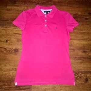 TOMMY Pink Polo